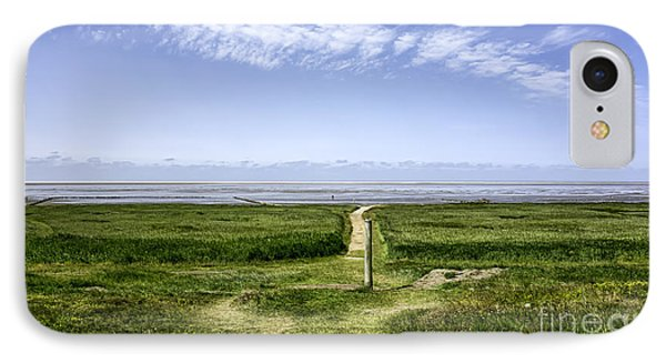 Wadden Sea From The Island Mando Denmark IPhone Case by Frank Bach