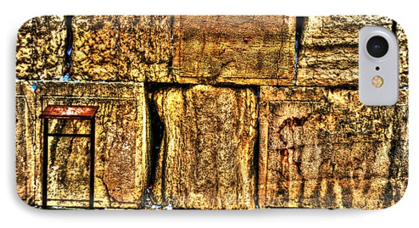 IPhone Case featuring the photograph Wailing Wall by Doc Braham