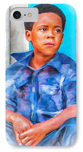 Waiting IPhone Case by Brenda Bryant