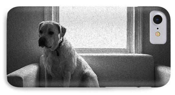 Waiting Phone Case by Diane Diederich