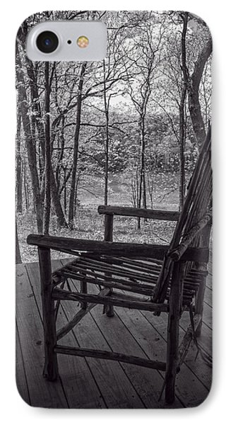 Waiting For Spring IPhone Case by Wayne Meyer