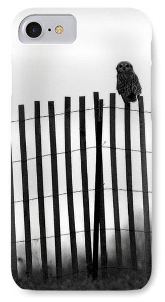 Waiting Owl IPhone Case