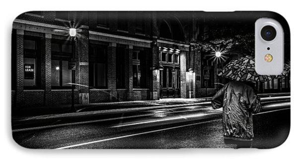 Walking In The Rain   Phone Case by Bob Orsillo