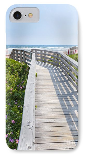 Walkway To Ocean Beach IPhone Case by Elena Elisseeva