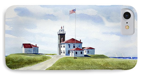 Watch Hill Ri Lighthouse IPhone Case