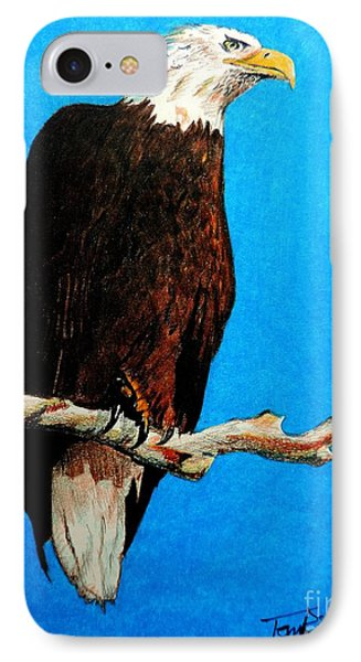 Watchful Eye IPhone Case by Tom Riggs
