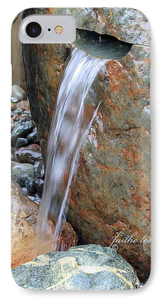 Water And Rocks II IPhone Case