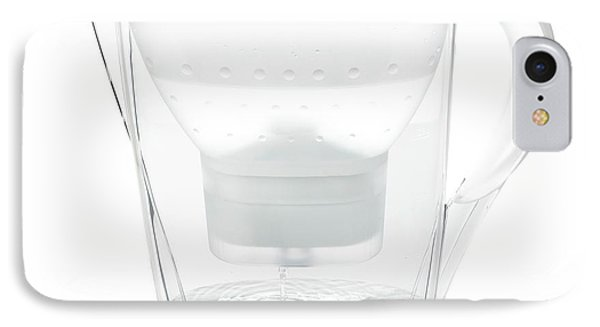 Water Filter Jug IPhone Case by Science Photo Library