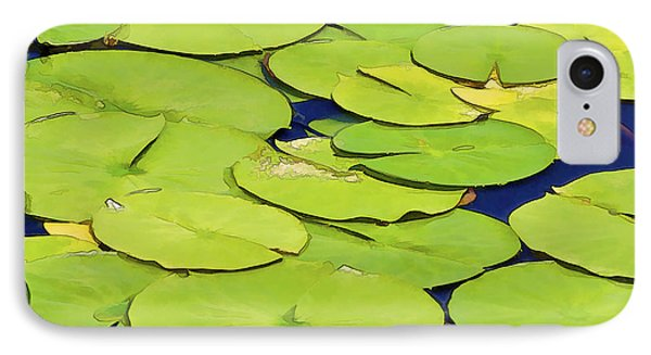 Water Lilly Phone Case by David Letts