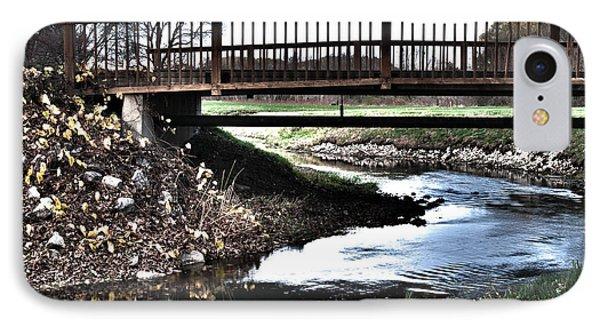 IPhone Case featuring the photograph Water Under The Bridge by Deborah Klubertanz