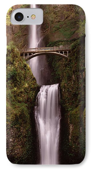 Waterfall In A Forest, Multnomah Falls IPhone Case