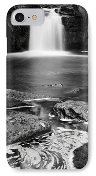 Waterfall In A Forest, Thomason Foss IPhone Case by Panoramic Images