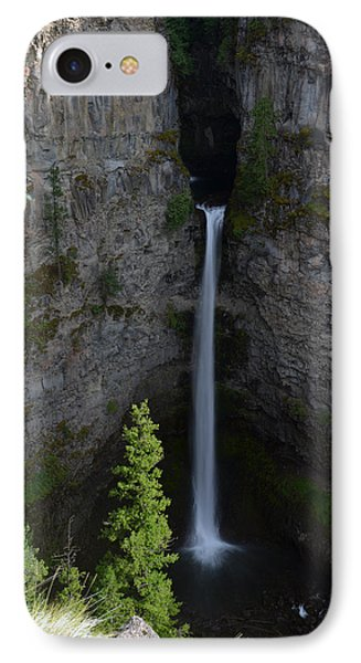 IPhone Case featuring the photograph Waterfall In Banff by Yue Wang