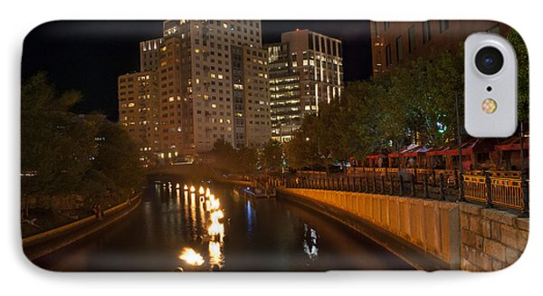 Waterfire.  Providence Rhode Island IPhone Case by Juli Scalzi