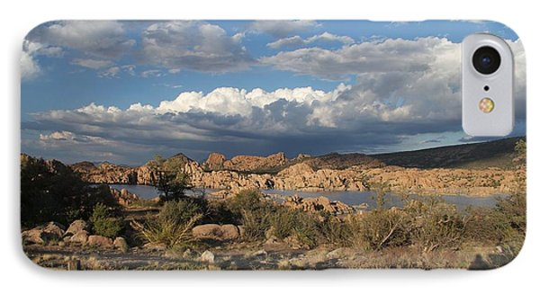 Watson Lake  IPhone Case by Diane Greco-Lesser