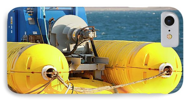 Wave Energy Generator IPhone Case by Ashley Cooper