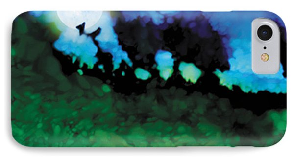 We Run To Catch The Moon IPhone Case by The Art of Marsha Charlebois