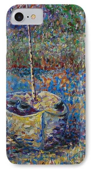 IPhone Case featuring the painting We Sail At Dawn by Ellen Anthony