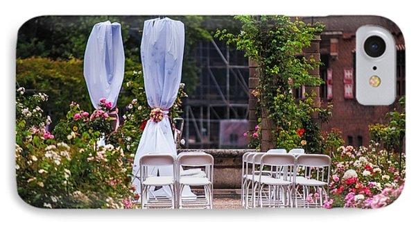 Wedding Arrangement In De Haar Castle. Utrecht Phone Case by Jenny Rainbow