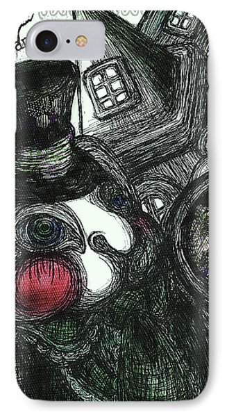 Welcome To Wonderland IPhone Case by Akiko Okabe