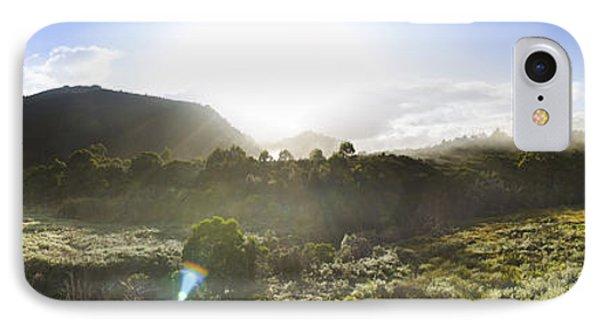West Coast Range Landscape In Tasmania Australia IPhone Case by Jorgo Photography - Wall Art Gallery