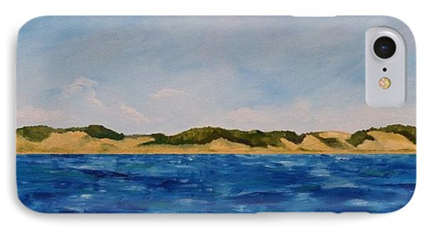 West Michigan Dunes IPhone Case by Michelle Calkins