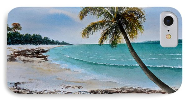 IPhone Case featuring the painting West Of Zanzibar by Sher Nasser