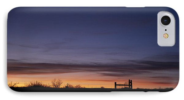 West Texas Sunset Phone Case by Melany Sarafis