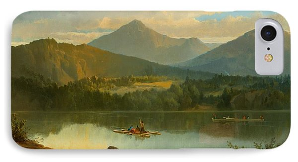 Western Landscape IPhone Case by John Mix Stanley