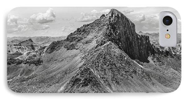 Wetterhorn Peak IPhone Case by Aaron Spong