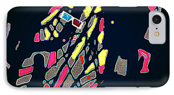 What You See ? IPhone Case by HollyWood Creation By linda zanini