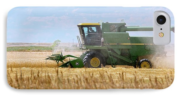 Wheat Harvest IPhone Case by Jim West
