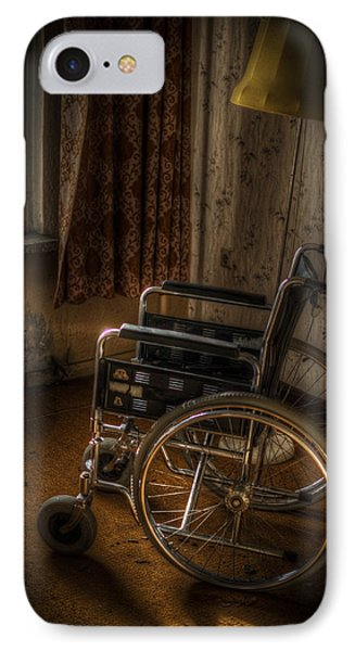 Wheelchair View  IPhone Case by Nathan Wright