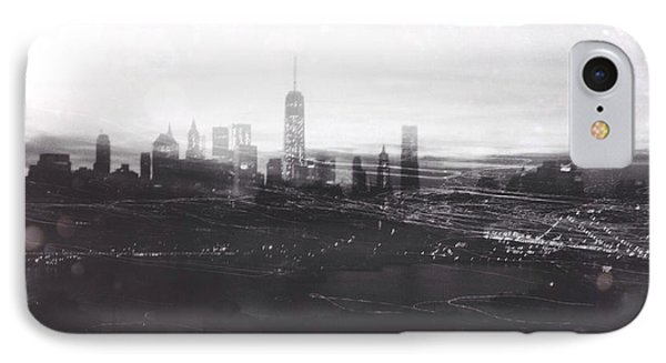When The Lights Go Down In The City... IPhone Case by Natasha Marco