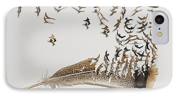 Where Feathers Come From IPhone Case by Chris Maynard