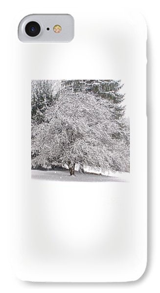 White As Snow IPhone Case