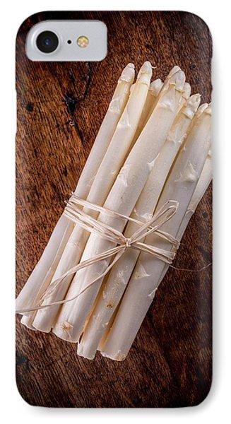 White Asparagus IPhone 7 Case by Aberration Films Ltd