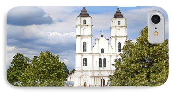 White Church Phone Case by Regina Koch