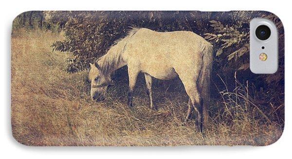 White Horse Phone Case by Jelena Jovanovic