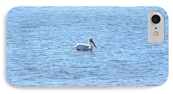 White Pelican IPhone Case