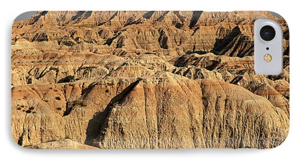 White River Valley Overlook Badlands National Park IPhone Case