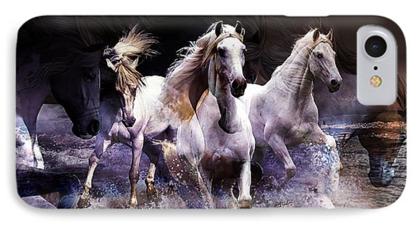 Wild Horses IPhone Case by Marvin Blaine