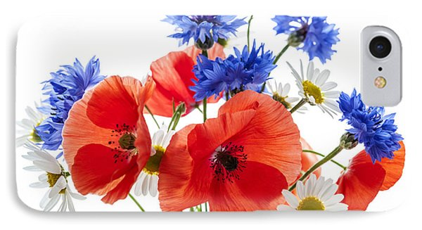 Wildflower Bouquet Phone Case by Elena Elisseeva