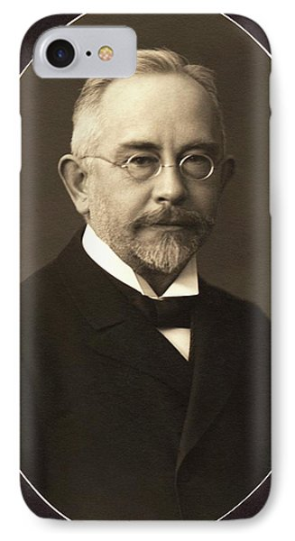 Wilhelm Johannsen IPhone Case by American Philosophical Society
