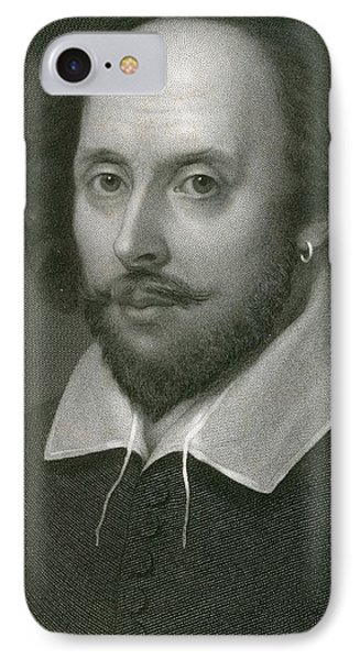 William Shakespeare Phone Case by English School
