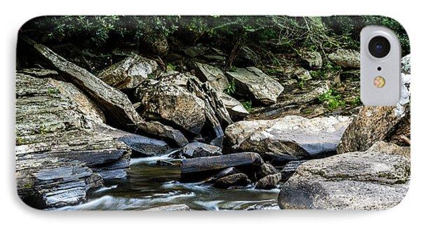 Williams River Rocks IPhone Case by Thomas R Fletcher