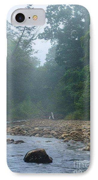 Williams River Summer Mist IPhone Case by Thomas R Fletcher