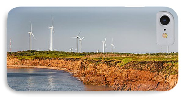 Wind Turbines On Atlantic Coast IPhone Case by Elena Elisseeva