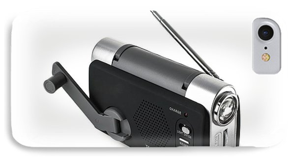 Wind-up Radio And Torch IPhone Case by Science Photo Library