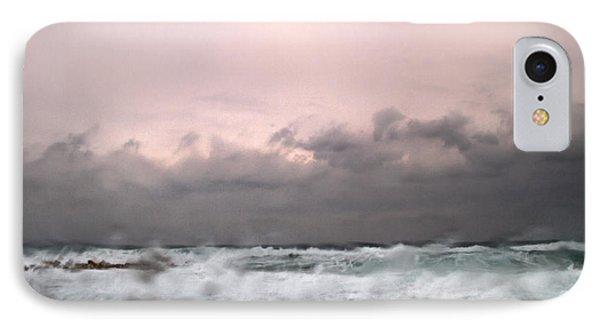 Window Sea Storm  Phone Case by Stelios Kleanthous